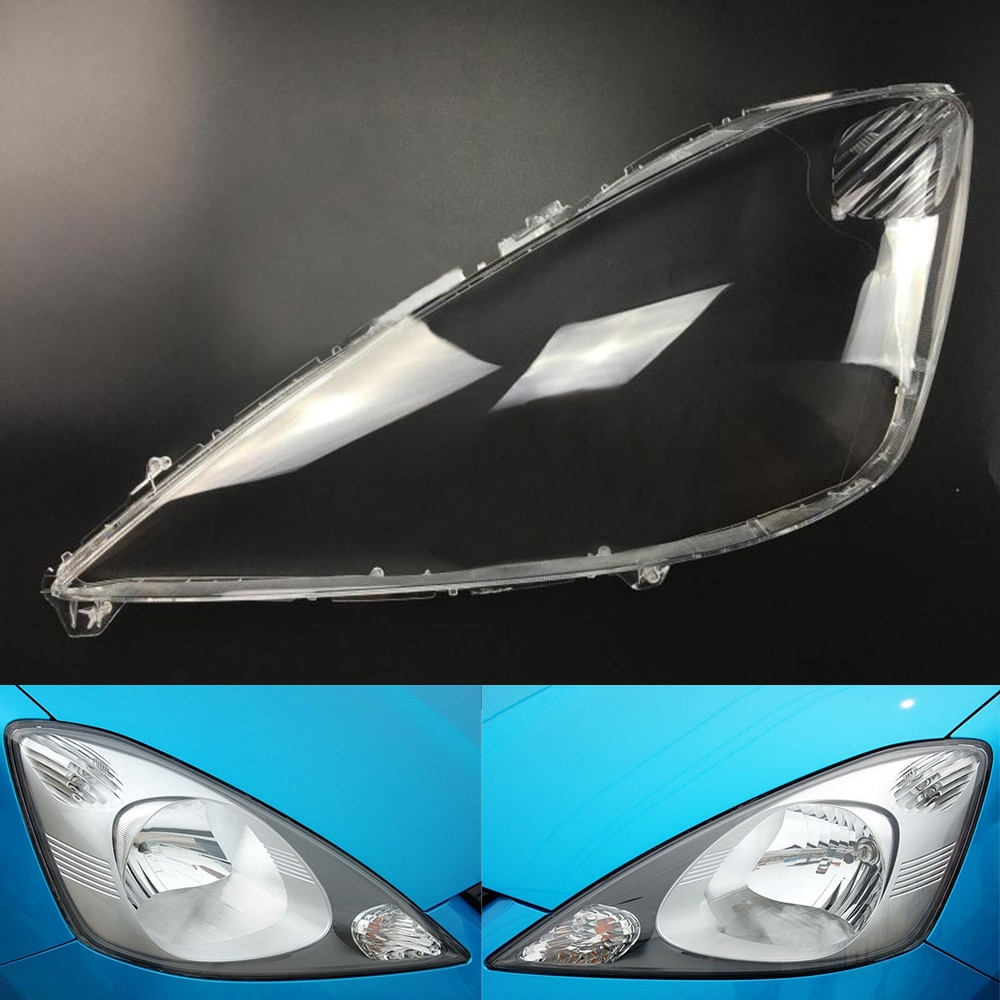 Headlamp Lens  For Honda Fit / Jazz Hatchback 2008 2009 2010 2011 Headlight Cover Replacement Front Car Light Auto Shell