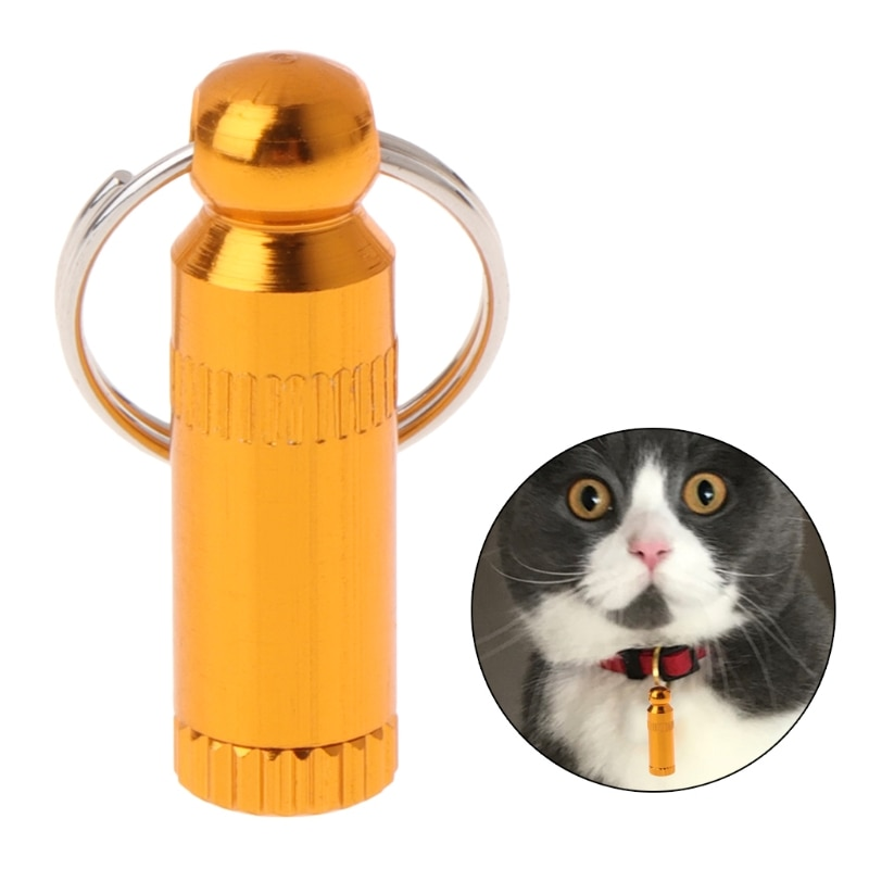 Collar de gato mascota personalizado Anti pérdida Metal identificación teléfono etiqueta perros cachorro