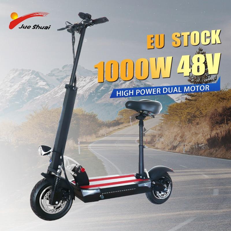 Patinete eléctrico de larga distancia para adulto, batería de litio potente, 48V,...