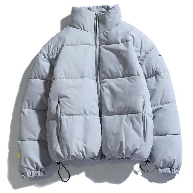 2021 зимнее пальто, мужские теплые парки, уличная одежда, хлопковые пальто, приталенные мужские куртки, однотонное ветрозащитное пальто с под...