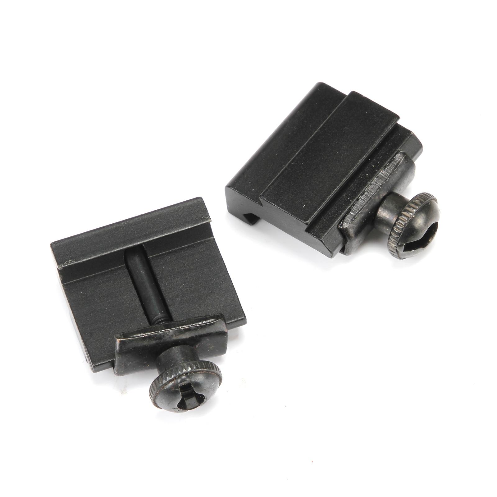 2 PCS 11mm - 20mm heightening rails extension brackets outdoor tactical bracket