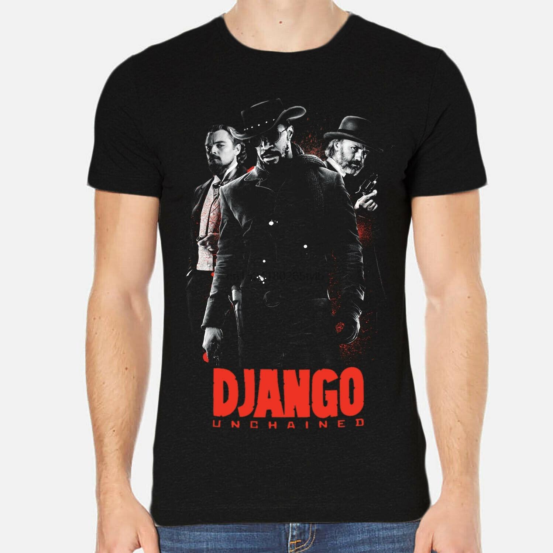 django-desencadenado-quentin-tarantino-leonardo-hombres-camiseta-negro-ropa-6-a-334