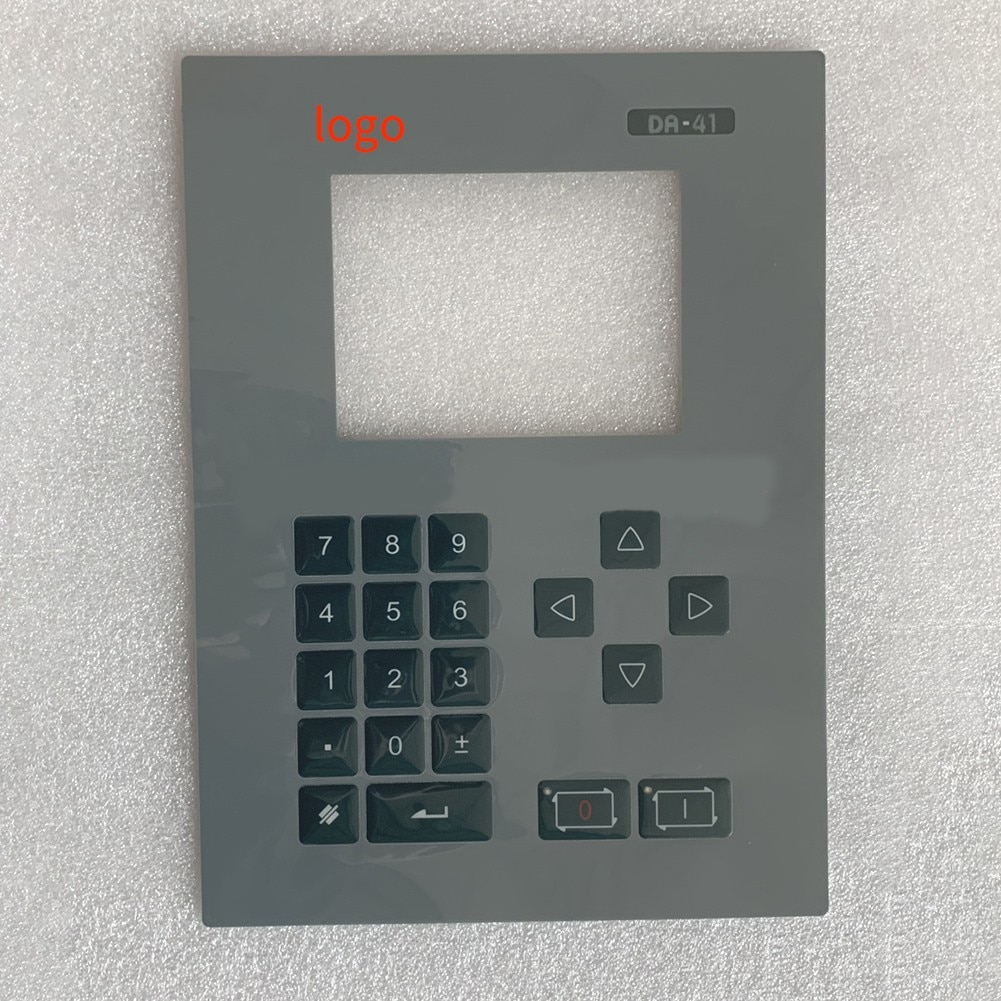 DA41 DA-41 ل DELEM CNC آلة غشاء لوحة المفاتيح زر واقية فيلم