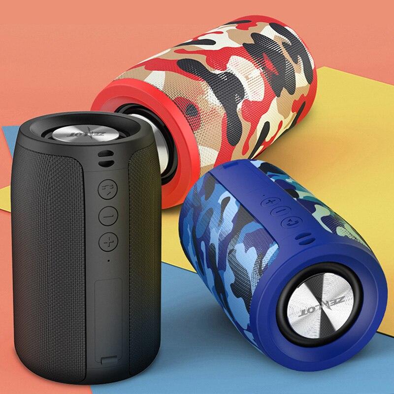 ZEALOT S32-altavoz portátil, inalámbrico por Bluetooth con Radio FM y entrada AUX TF, columna de altavoz de sonidos graves MP3, Boombox USB