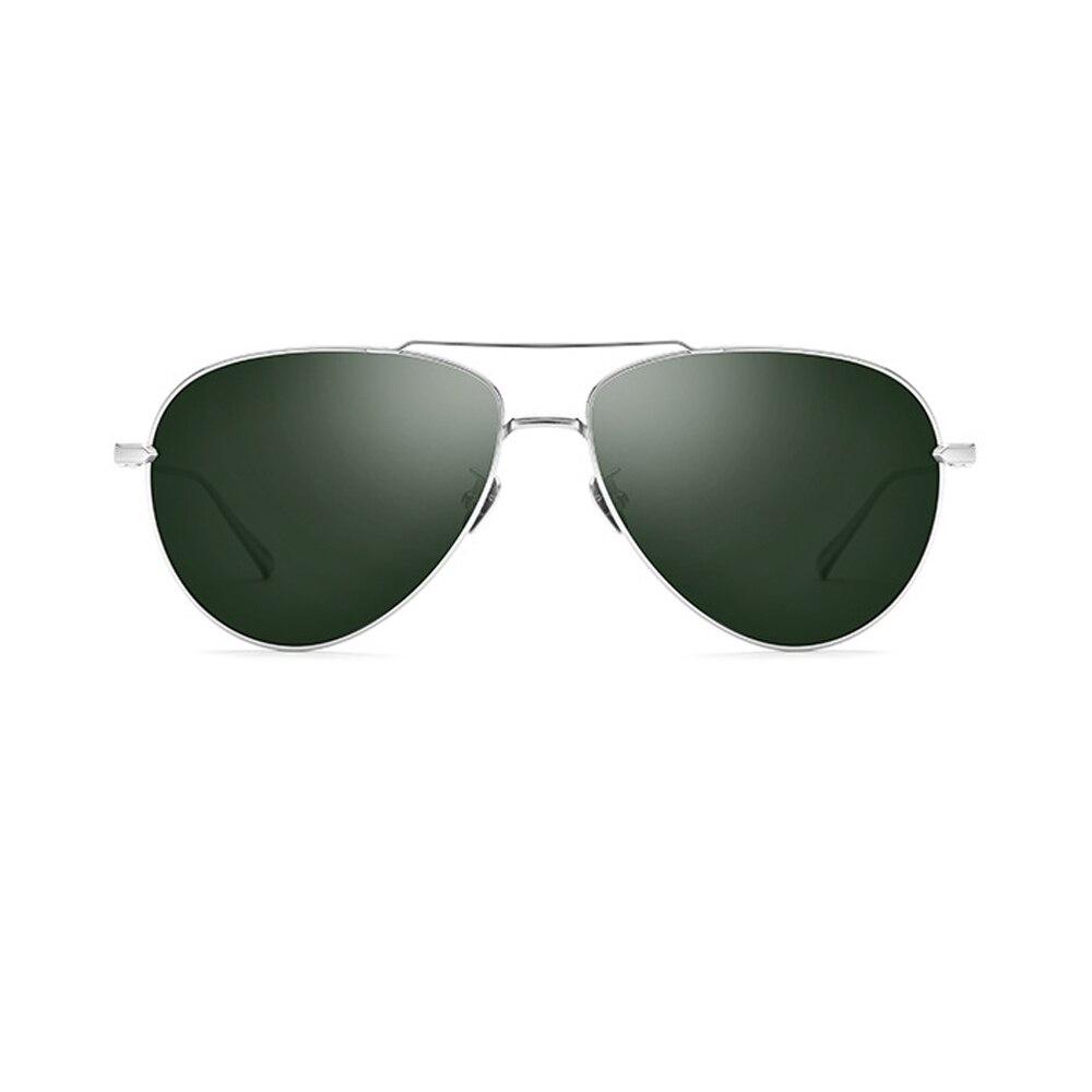 New Titanium alloy Men Polarized Sunglasses 3 Colors Green/Black/Blue UV400 Men Driving Glasses With Box