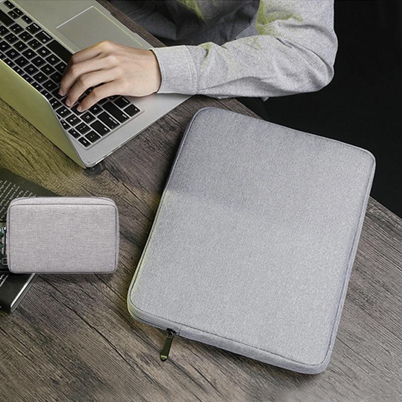 "Bolsa de ordenador portátil sólida 11 12 13 14 15,6 pulgadas, bolsa de portátil para Macbook Air Pro 13 15, funda para Mac book Air 13, funda para ordenador portátil 14 ""15,6"""