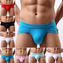 Plus Size Mens Boxers Seamless Low Waist Erotic Short Boxers Pants Underwear Solid Underpant L-XXXL