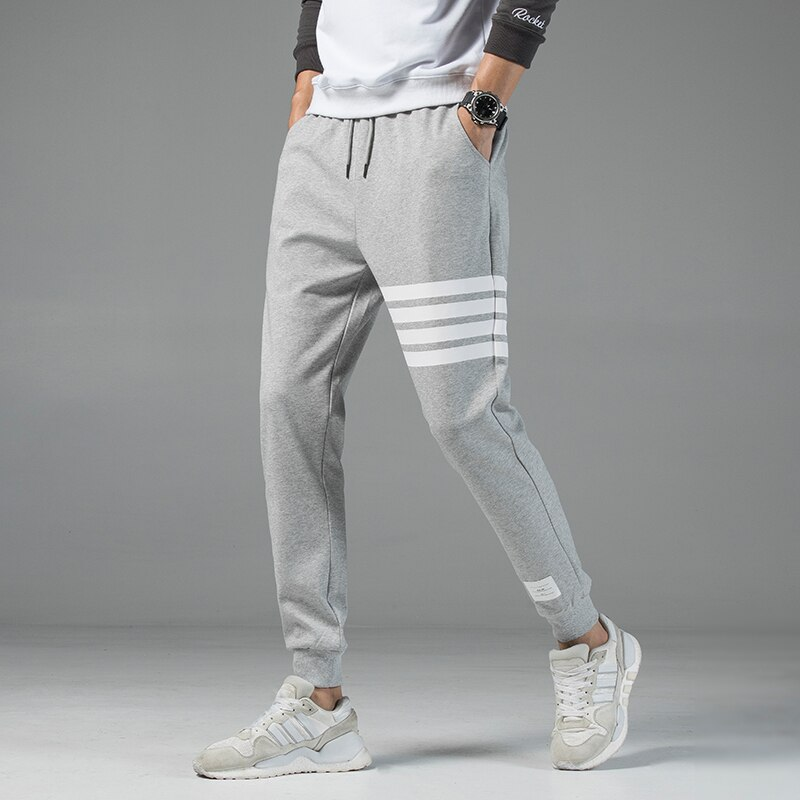 2019 Autumn New Men's Casual Sweatpants Solid High Street Trousers Men Joggers Oversize Brand High Quality Men's Pants 4XL