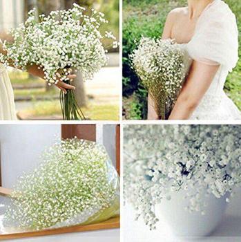 GloryStar 1 шт., свадебный цветок CYNDIE, красивый искусственный гипсофиловый детский дышащий цветок, растение, домашний Свадебный декор