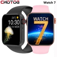 2021 iwo smart watch series 7 heart rate monitor smartwatch men women fitness tracker bracelet watches for android ios iphone