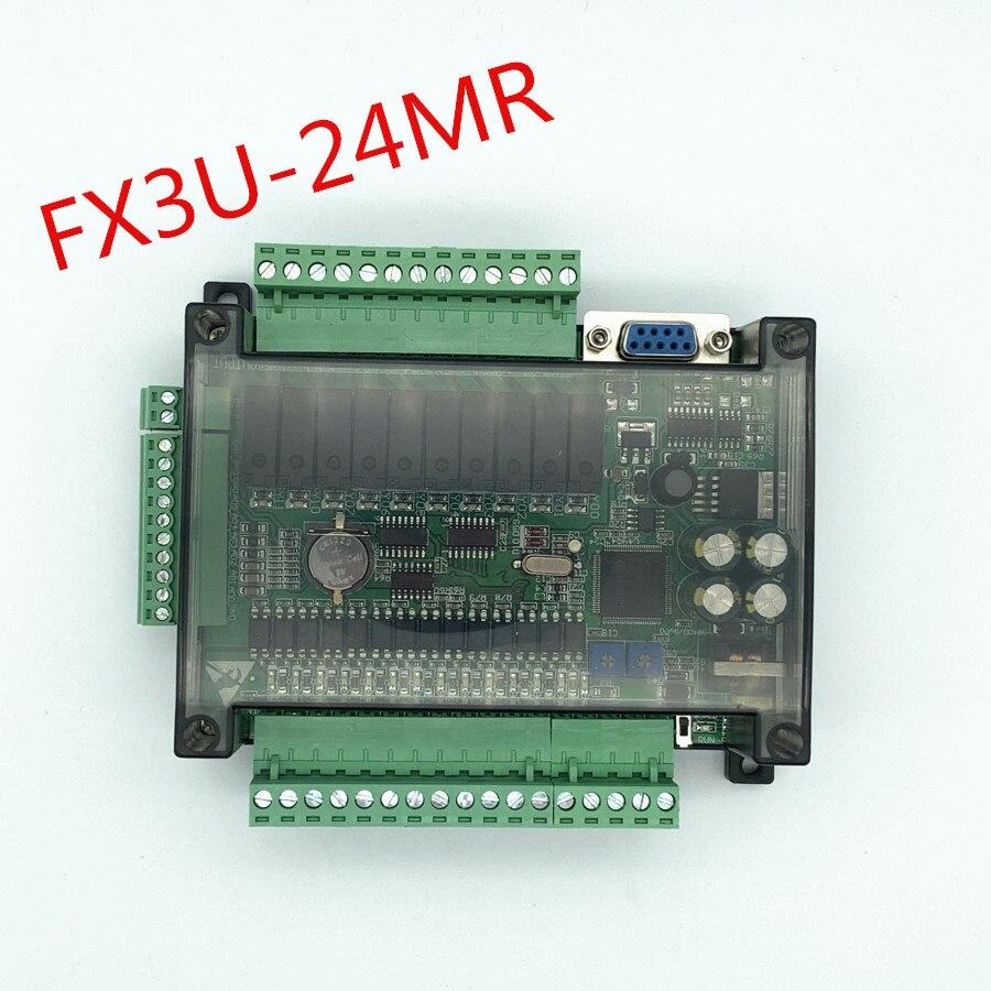 FX3U-24MR عالية السرعة المحلية PLC لوحة تحكم الصناعية مع الحال مع الاتصالات 485