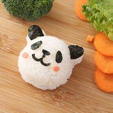 2020 Nieuwe Leuke Panda Onigiri Shaper Rijst Bal Schimmel Diy Sushi Mould Keuken Gadgets Bento