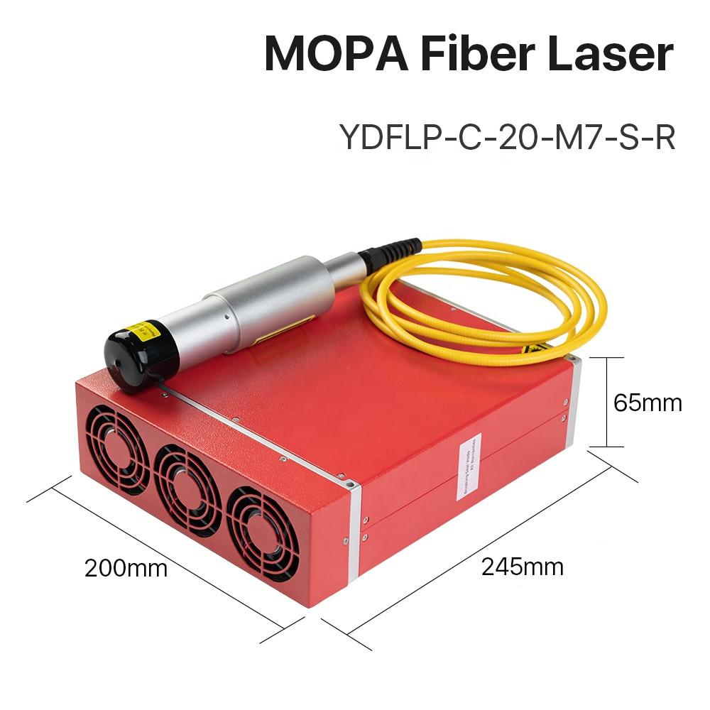 AM44 3D Color Mopa Jpt Fiber Laser Source 20w Red Dot enlarge