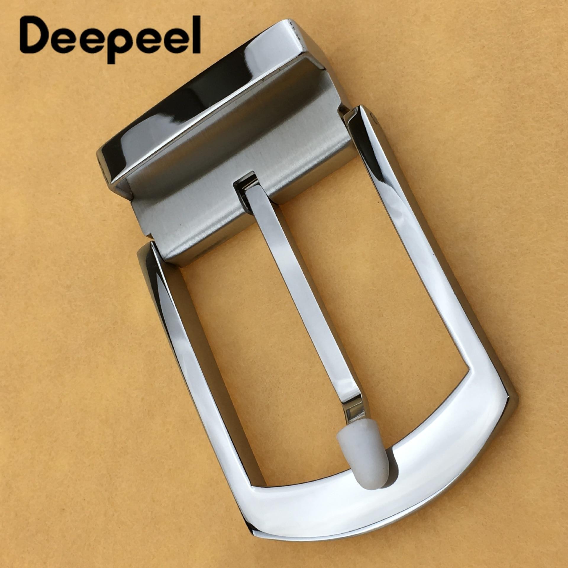 Deepeel, 1 pieza de ancho, 40mm, hebilla de acero inoxidable para hombres, accesorios y hebillas para cinturones de alta calidad para hombres, hebilla desmontable YK763