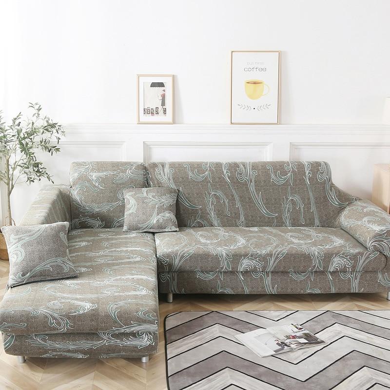 Fundas universales de sofá de esquina para sala de estar fundas elásticas sofá seccional loveseat funiture protector cubre sofa