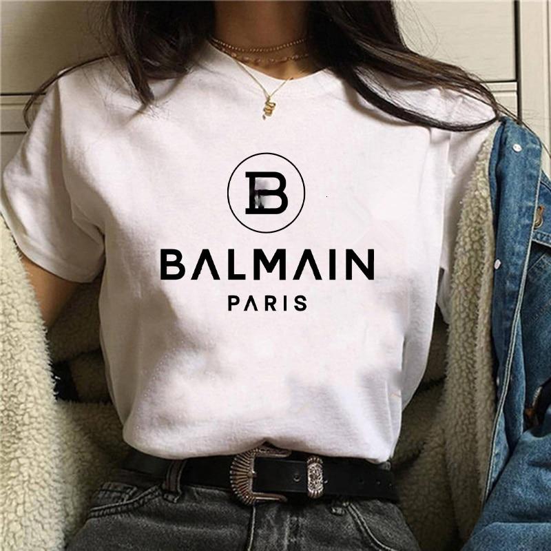 Camiseta Harajuku para Mujer, remera con letras estampadas para Mujer, remera para...