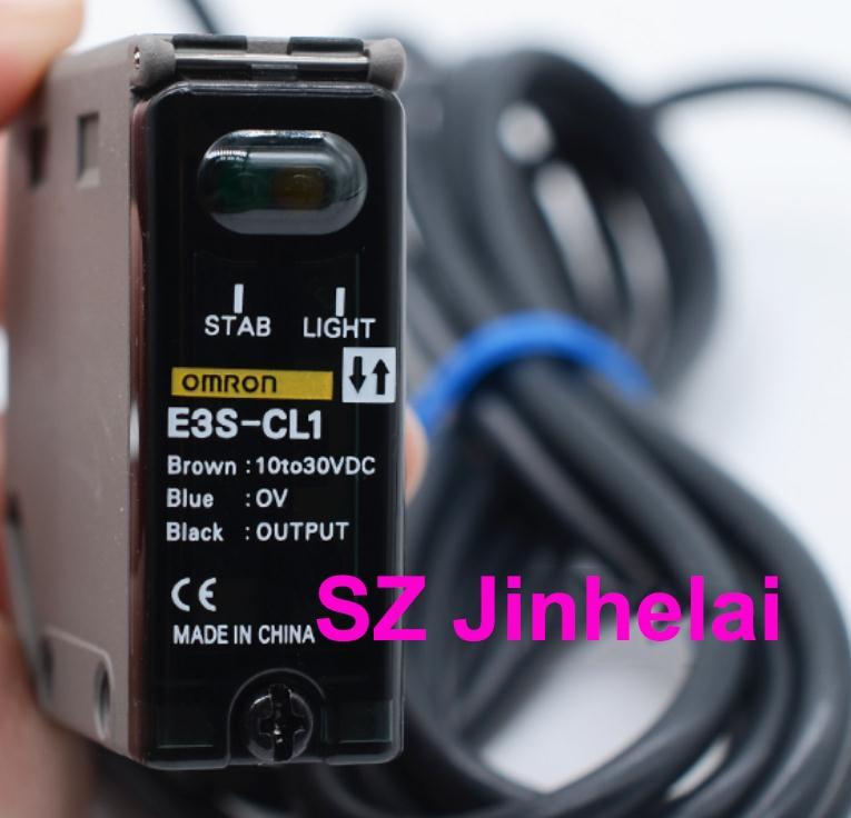 Interruptor fotoelétrico original autêntico de omron E3S-CL1 2 m
