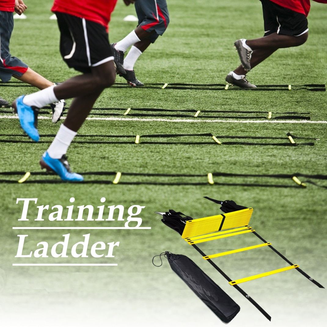 Yellow Agility Speed Jump ladder Soccer Agility Outdoor Training Football Fitness Foot Speed Ladder 3M 4M 6M
