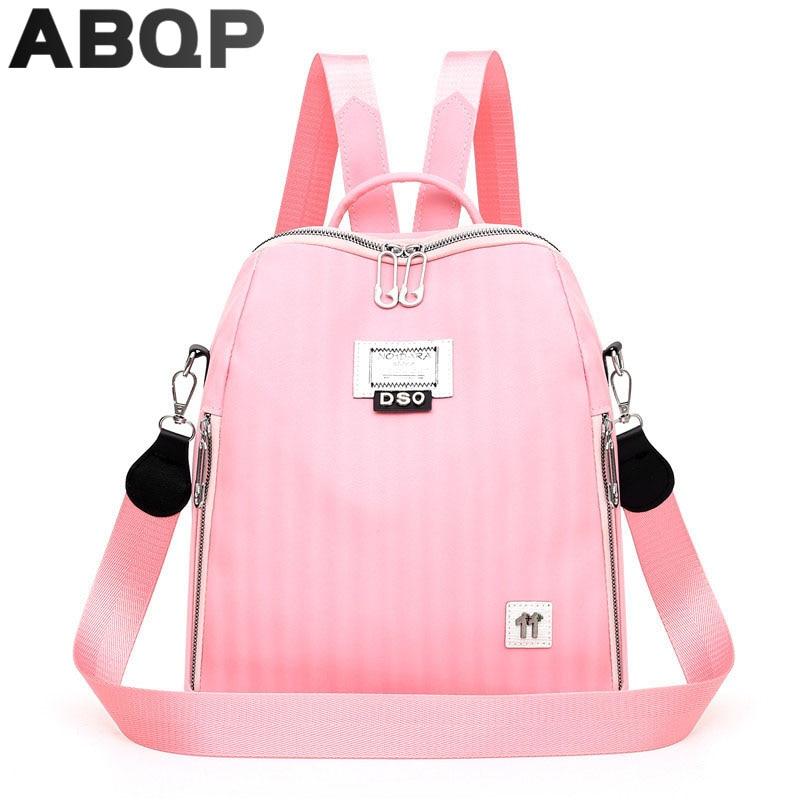 рюкзак женский Женский кожаный рюкзак ярких цветов, женский рюкзак вместительные водонепроницаемые дизайнерские школьные ранцы для девоч...