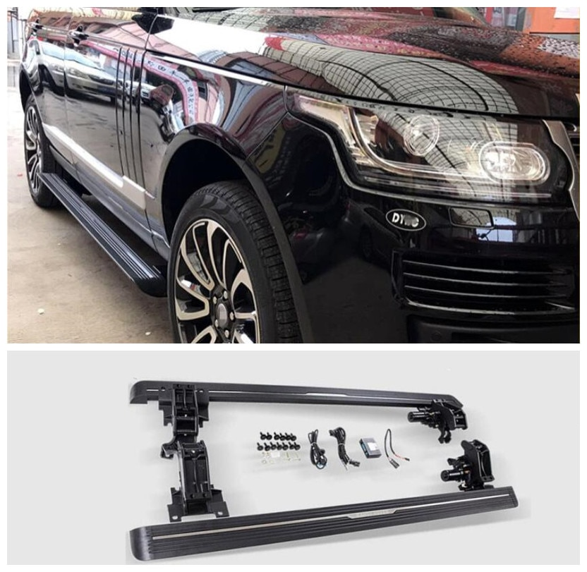 مفتاح كهربائي للمحرك الأوتوماتيكي ، لوحات تشغيل مغلقة ، قضبان نيرف ، لـ Land Rover VOGUE HSE