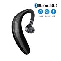 bluetooth earphones headphones handsfree earloop wireless headset drive call sports earphones with mic for all smart phones