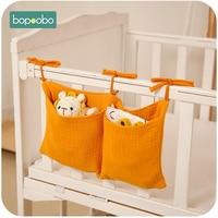 Детская прикроватная сумка для хранения, органайзер для детской кроватки, подвесная сумка для детских принадлежностей, многофункциональны...