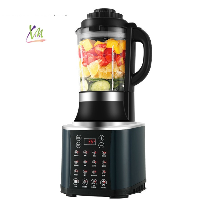 Multi-Functional Intelligent Household Full-automatic Soybean Milk Juicing, Sand Ice Complementary Food Processor