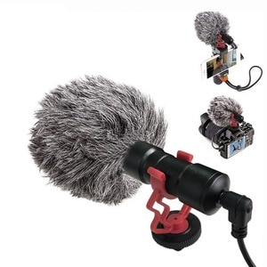 GAM-MG1 Shotgun Video Microphone Universal Recording Microphone Mic for DSLR Camera iPhone Android Smartphones Mac Tablet