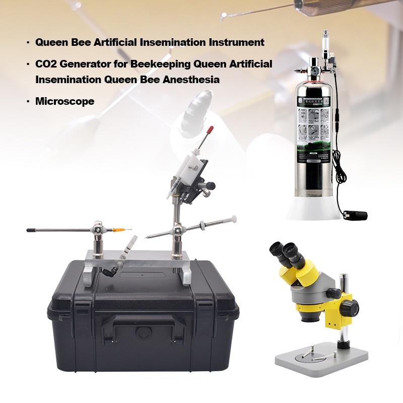كفاءة التزاوج معدات المهنية المجهر الملكة النحل أدوات التلقيح الاصطناعي أطقم