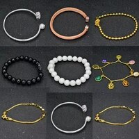 2021 new womens hand bracelets heart 925 sterling silver original couple love pearl tennis luxury jade retro fashion jewelry