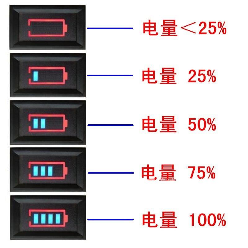 Neue Power Anzeige Batterie Kapazität Monitor Ist Geeignet Für Blei-säure Batterie Lithium-Batterie Power Display