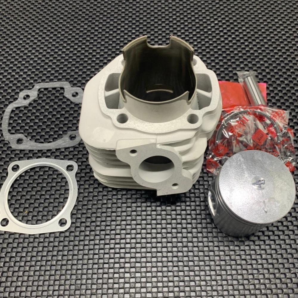 JOG50 JOG90 kit de cilindro de 54mm 125cc 3KJ gran cilindro pistón de carreras de piezas del motor de nicasil de velocidad jog 50 90