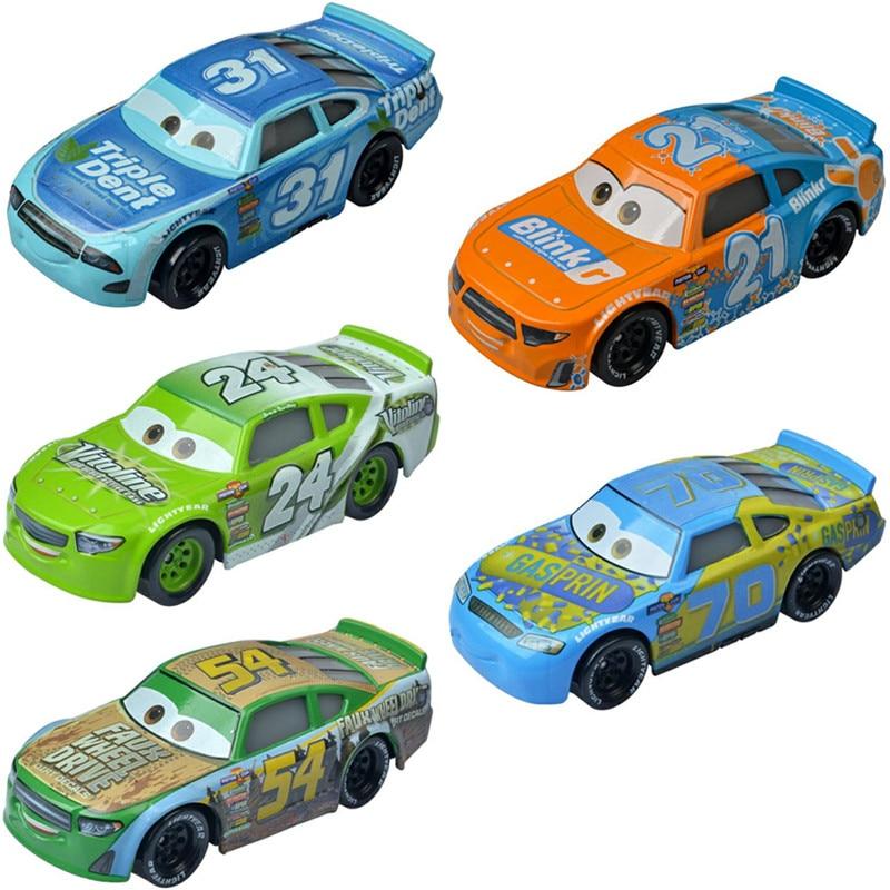 Новинка Disney Pixar тачки 3 Тачки 2 Молния Маккуин номер гонщик 1:55 литые модели из металлического сплава игрушки для детей подарок на день рожден...