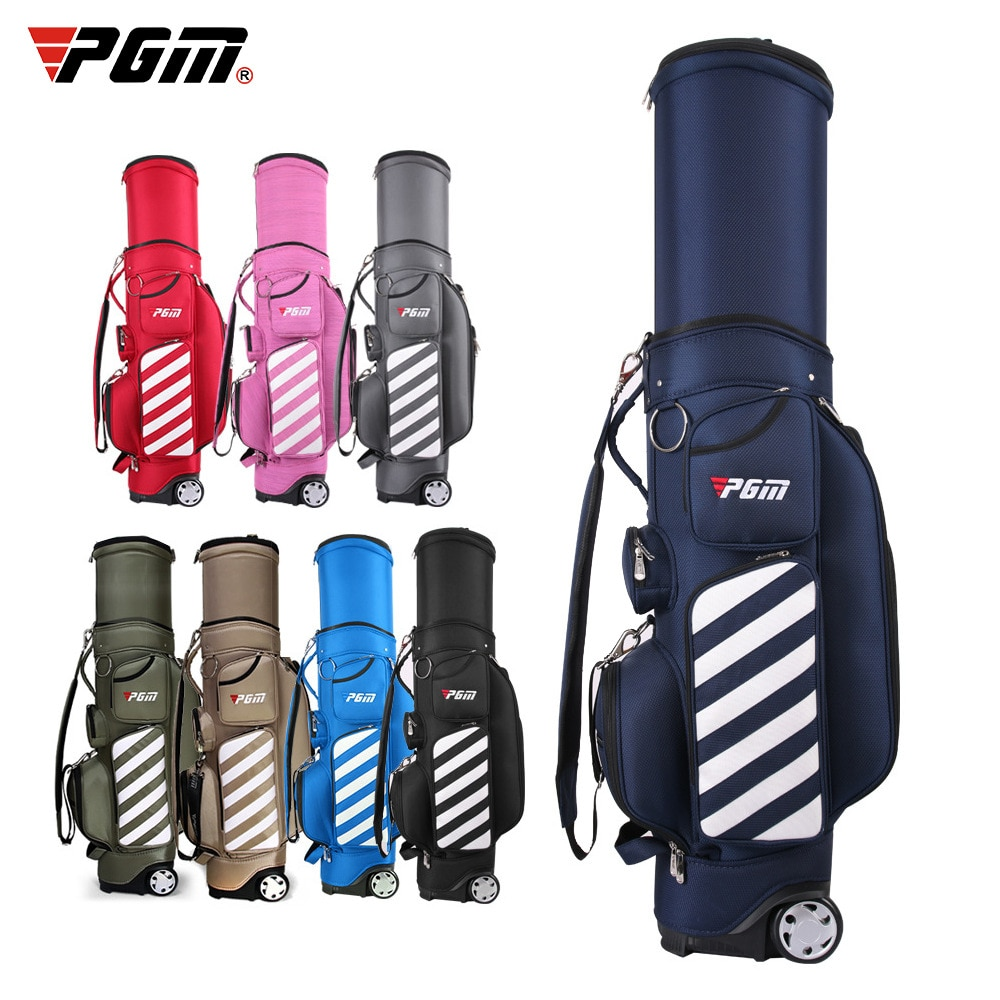 Golf Bag High Capacity Standard Bag With Pulley Air Bag Multifunctional Telescopic Convenience Ball Bag Team Customized