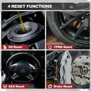 Image 4 - Thinkcar Thinkscan 601 OBD2 читатель кода блока управления двигателем/АБС пластик/ПП автомобильное масло сканера/Система контроля давления в шинах/стоп сигнал/SAS сброс диагностический инструмент