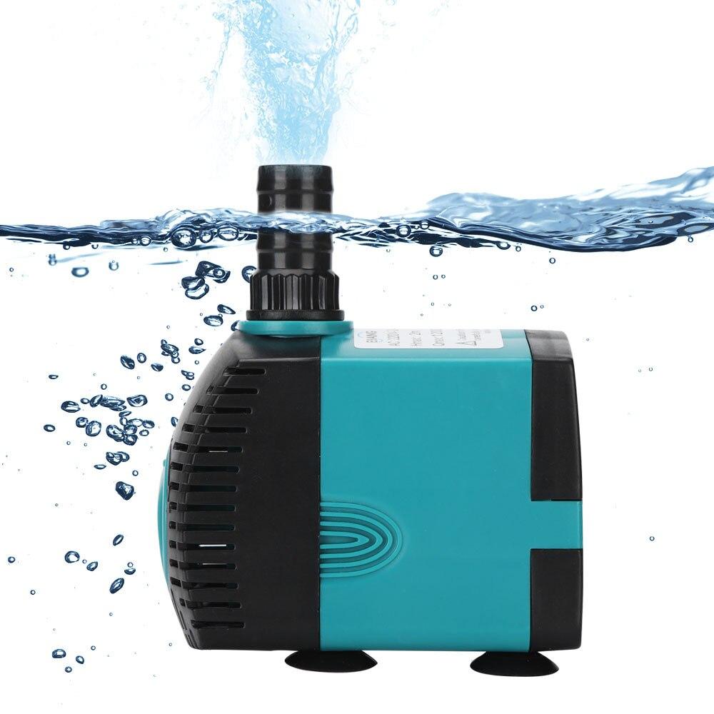 3/6/10/15/25w multifunción Ultra-silencioso sumergible para fuente de agua bomba filtro estanque de peces bomba de tanque de acuario fuente