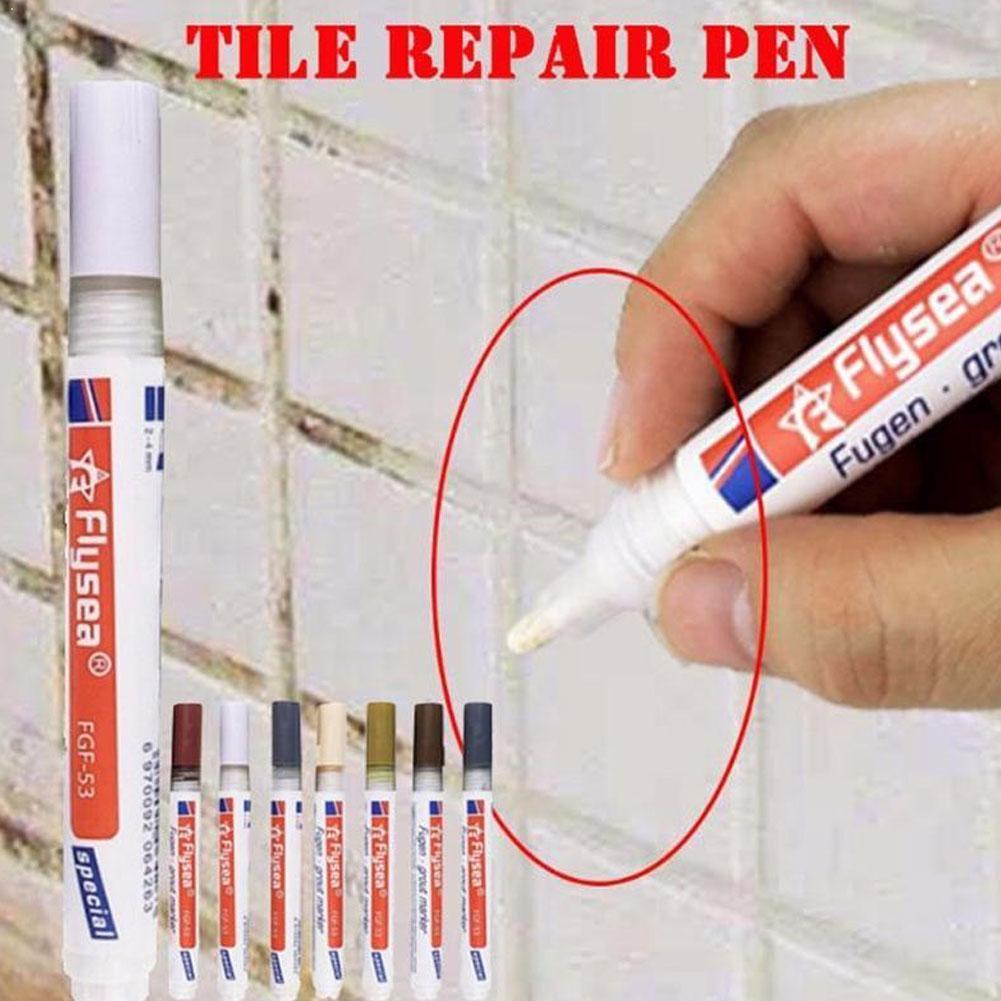 Color Pen White Tile Refill Grout Pen Tile Gap Repair Bathroom Porcelain Filling Waterproof Mouldpro