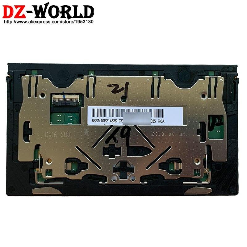 Material de Vidro Original para Lenovo Clicker Mouse Board Touchpad Novo Thinkpad x1 5th Gen Carbono Portátil 01lv564 01lv563 Pad