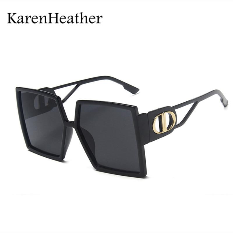 Karenbrezo Plus-Gafas De sol cuadradas, Lentes De Moda, Gafas De sol De...