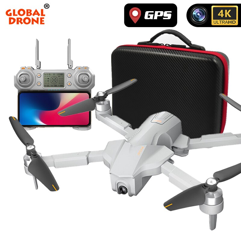 Global Drone 4k Profissional Me sigue Rc 5g Wifi Fpv tiempo volar giroscopio Gps Drones con cámara Hd Avion Rc Gw90