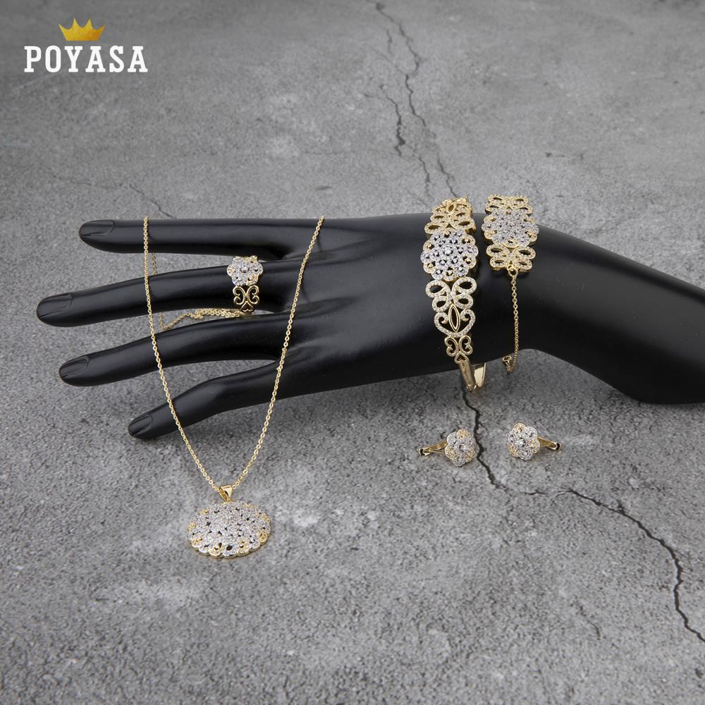 Caftán marroquí boda oro conjunto de joyería para mujer nuevo diseño de joyería de oro conjunto de joyería de moda envío gratis