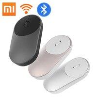Оригинальная портативная беспроводная мышь Xiaomi mi Mouse в наличии, оптический бупон для получения купонов Цвет: серый, серебристый, золотой Кол...