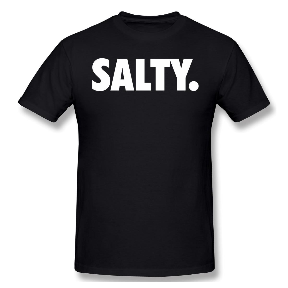 Salado. Camiseta negra overwatch para hombre, camiseta de manga corta pura