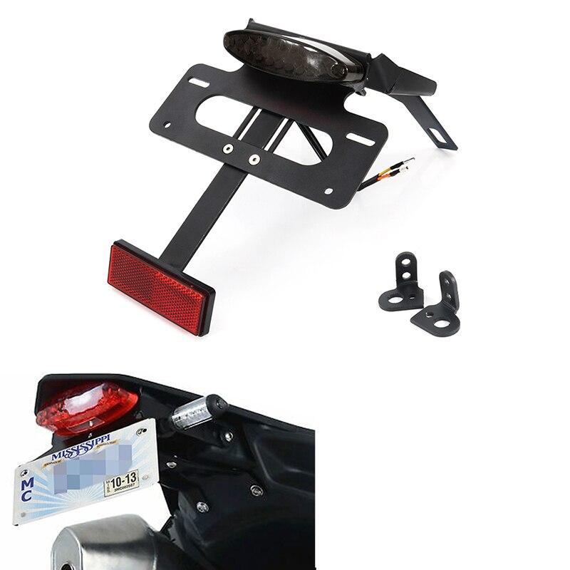 Accesorios de motocicleta para KTM 690 Enduro 690 SMC 690 SMCR, soporte de placa de sujeción, kit eliminador de guardabarros de motocicleta