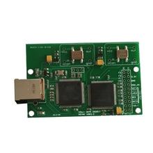 Italie Amanero USB IIS numérique interface prend en charge DSD512 32 bits/384 khz pour AK4497 ES9038 CAD conseil