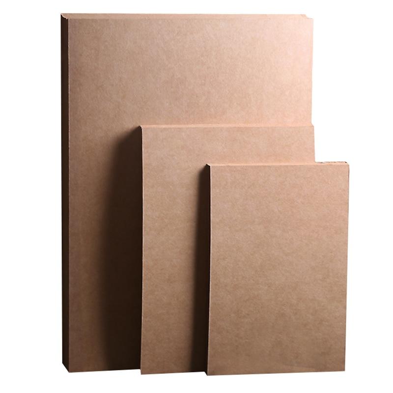 Высококачественная коричневая крафт-бумага A4 A3 70 г/300 г, сделай сам, ручная работа, изготовление карточек, крафт-бумага, толстая бумага, карто...