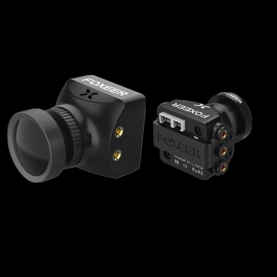 Foxeer Razer ミニカム CMOS 1/3 HD 5MP 2.1 ミリメートル M12 レンズ 1200TVL PAL NTSC FPV カメラ OSD 4.5- 25V 自然画像 RC FPV レースドローン