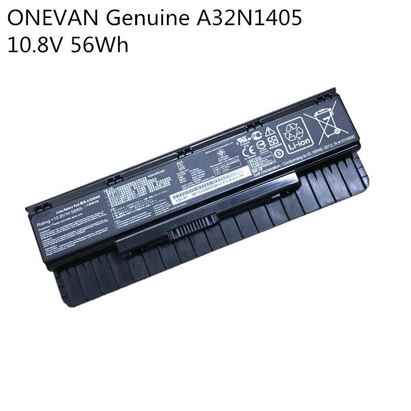 ONEVAN подлинный A32N1405 Новый аккумулятор для ASUS ROG N551 N751 N751JK G551 G771 G771JK GL551 GL551JK GL551JM G551J G551JK G551JM