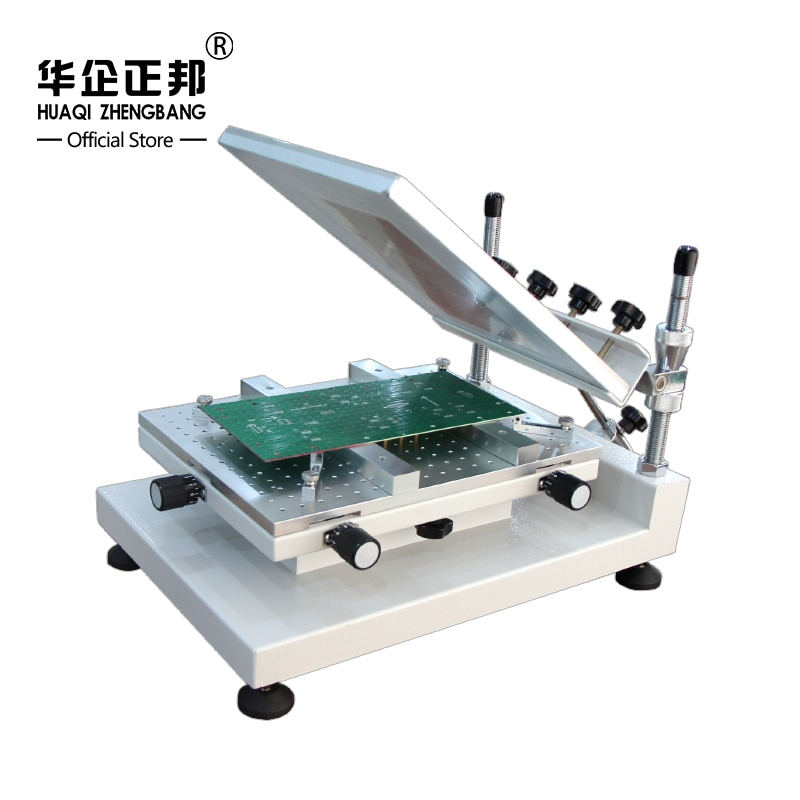 SMT Stencil اللحيم لصق آلة طابعة/دليل PCB ماكينة طباعة على الملابس