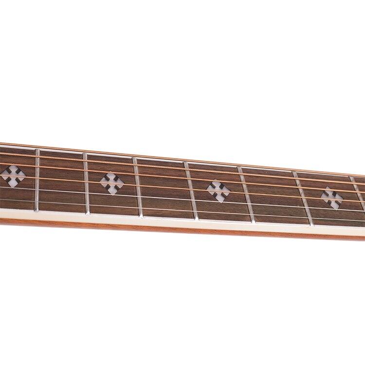 Bullfighter K4 Spruce Wood 41 Inch Affordable OEM Acoustic Guitar Solid Top enlarge